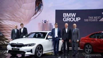 BMW 3シリーズセダン 新型(パリモーターショー2018)