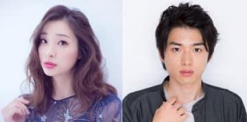 ドラマ「僕はまだ君を愛さないことができる」でダブル主演を務める足立梨花さん(左)(C)SEIJI MEGA、と白洲迅さん(C)「僕はまだ君を愛さないことができる」製作委員会