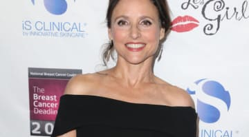 Julia Louis-Dreyfus at The National Breast Cancer Coalition's 18th Annual Les Girls Cabaret