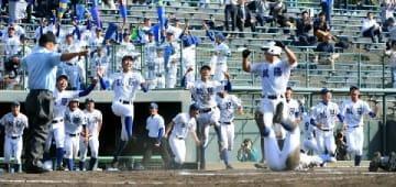 筑陽学園が興南撃破 相手失策でサヨナラ 秋季高校野球九州大会4強決定