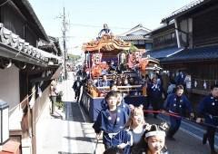 城下町熱く、津山まつり開幕