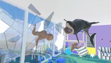 全裸男飛び交うシュールなVR物理サンドボックス『Mosh Pit Simulator』Steamページ公開―『McPixel』クリエイター新作