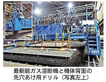 ニューエイジ、最新鋭ガス溶断機が稼働