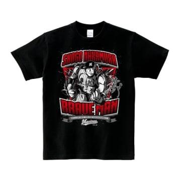 「デッドボール球団記録更新BRAVE MAN Tシャツ」の表面