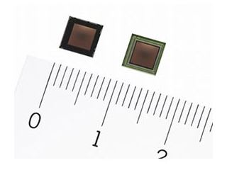 CMOSイメージセンサー「IMX418」(写真:ソニーの発表資料より)