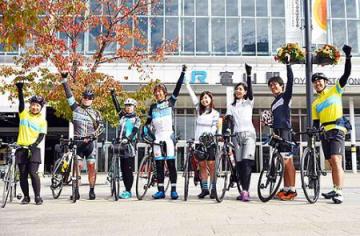 県内サイクリングコースの魅力発信へ モニターツアー始まる