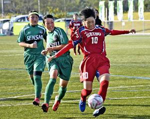 桜の聖母、全国出場逃す 東北高校女子サッカー