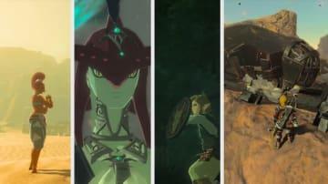 『ゼルダの伝説 BotW』内の音だけで構成された心地よいミュージック動画が素敵