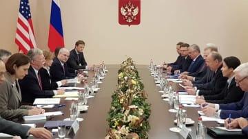 トランプ氏、核戦力強化を強調 ロシアをあらためて批判 INF離脱
