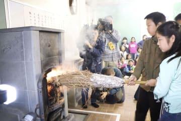 고산지대 초등학교에 따끈한 난방