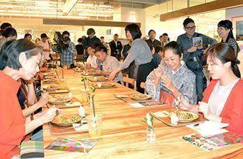 島野菜でヘルシーご飯 リウボウ「樂園カフェ」きょう開店