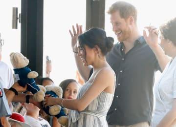 헨리 왕자 부부, 세계유산 섬 방문