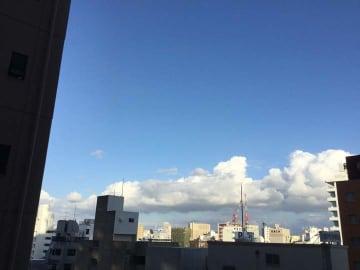 沖縄の天気予報(10月23日~24日)高気圧のへりで曇り、一時雨 24日は次第に晴れる