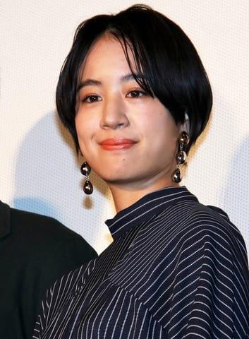 映画「生きてるだけで、愛。」の完成披露上映会に登場した石橋静河さん