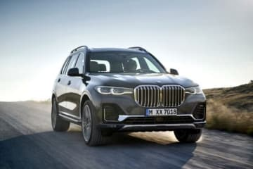BMW・X7(画像: BMW Group)