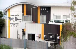 廃業したモンブランの本社=23日午前10時ごろ、神戸市西区上新地1(撮影・大島光貴)