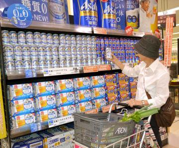統計 An Aeon supermarket in September 2014  2014090200190