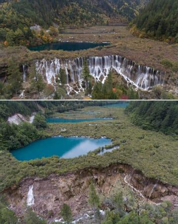 「生態系修復」で九寨溝の美しい景色が蘇る 四川省