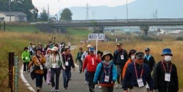 遠賀川の河畔を歩こう 28日、4コース参加者募集 飯塚市 [福岡県]