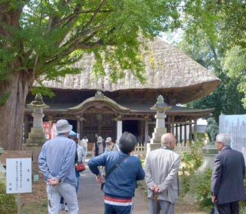国指定重要文化財の佐竹寺本堂=常陸太田市天神林町