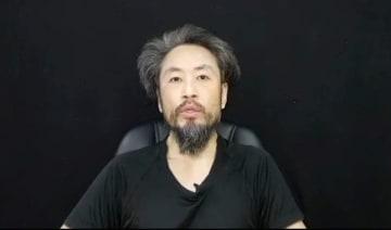 7月、フェイスブックに公開された安田純平さんとみられる画像(共同)