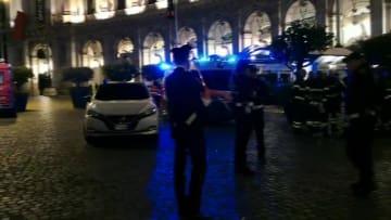 ローマ地下鉄駅のエスカレーター事故で20人が負傷