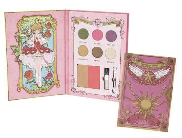 A賞:夢みる魔法の本型コスメパレット(全1種)、約18cm(C)CLAMP・ST/講談社・NEP・NHK