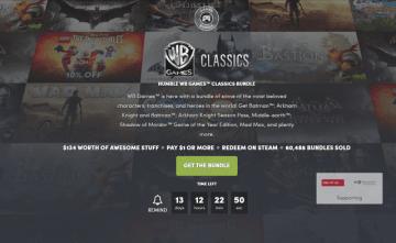 『Batman』シリーズや『Mad Max』が手に入る「HUMBLE WB GAMES CLASSICS BUNDLE」開始!