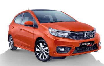 HPMがインドネシアで生産販売しているシティーカー「ブリオRS」(同社提供)