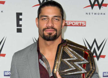 Roman Reigns: WWE RAW Pre-Show Red Carpet