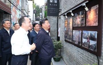 習近平氏、広東省広州市を視察