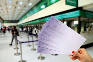 香港郵便総局、「港珠澳大橋」特別切手の公式初日カバー発売
