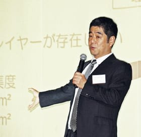 伝わるプレゼンテーション術を紹介する伊藤忠商事の沢野井北海道支社長