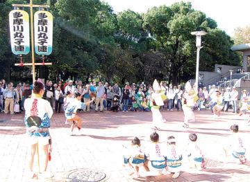 『新丸子阿波踊り』で音楽ライブ「インユニティ」親子で楽しもう【川崎市中原区】