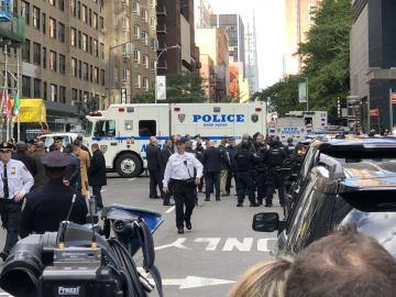 米CNNテレビのニューヨーク支局宛てに爆弾物