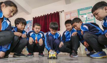 ロボット課程で科学技術の魅力を体験 河北省武強県