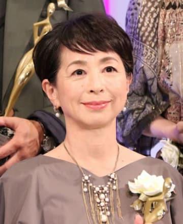 「東京ドラマアウォード2018」の授賞式に出席した阿川佐和子さん