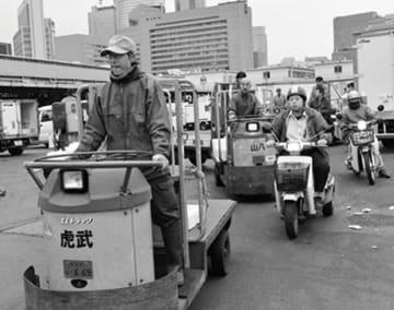 小林伸太郎さん写真展「ありがとう『築地市場』さようなら」