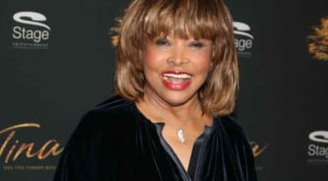 Tina Turner Dazzles In Blue Velvet At German Premiere Of New Musical 'Tina - The Tina Turner Musical'