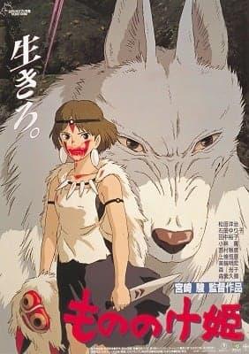 もののけ姫(1997)(C) 1997 二馬力・GND  興行収入193億円の本作の大ヒットはスタジオの転換点となっている