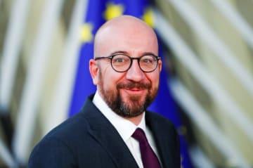 ベルギーのミシェル首相(ロイター=共同)