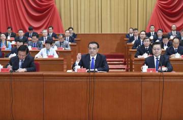 李克強氏、中国工会第17回全国代表大会で経済情勢報告