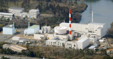 日本原子力研究開発機構の高速実験炉「常陽」=茨城県大洗町