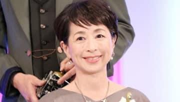 「東京ドラマアウォード2018」の授賞式に登場した阿川佐和子さん