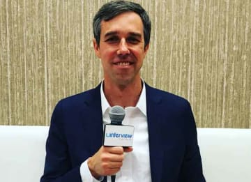 Texas Democratic Senate Nominee Beto O'Rourke On Ted Cruz, Gun Reform, Rejecting PAC Money [VIDEO EXCLUSIVE]