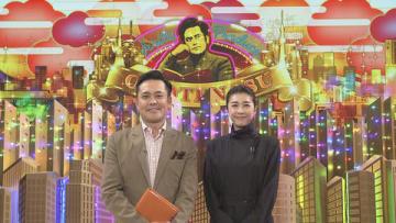 27日放送のNHKの番組「有田Pおもてなす」にゲスト出演する竹内結子さん(右)=NHK提供