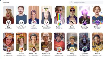 Snapchat、Twitch連携可能なPC向けカメラアプリ「Snap Camera」無料配信!『PUBG』『LoL』レンズも