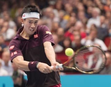 Tennis: Nishikori at Erste Bank Open