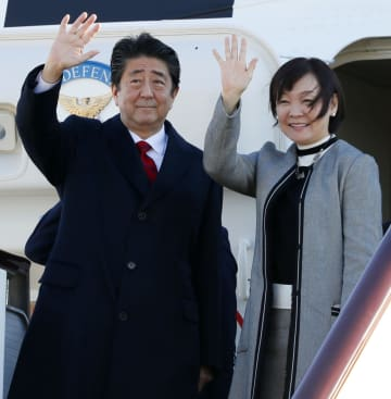 Japan PM Abe, wife