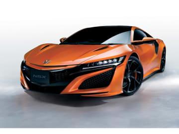 大幅な性能向上を目指して改良を受けたホンダのスーパースポーツ「NSX」、3.5リッターV型6気筒ター日に3モーターを組み合わせたHVスポーツだ。価格2370万円